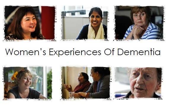 Women's Experiences of Dementia - front cover